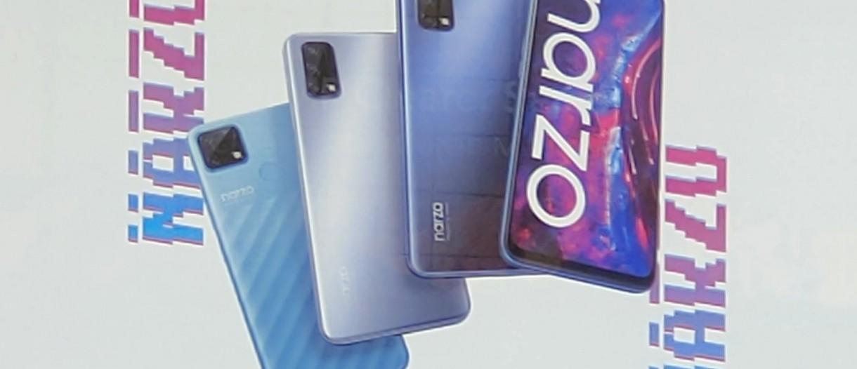 Realme Narzo 30 Pro 5G geliyor