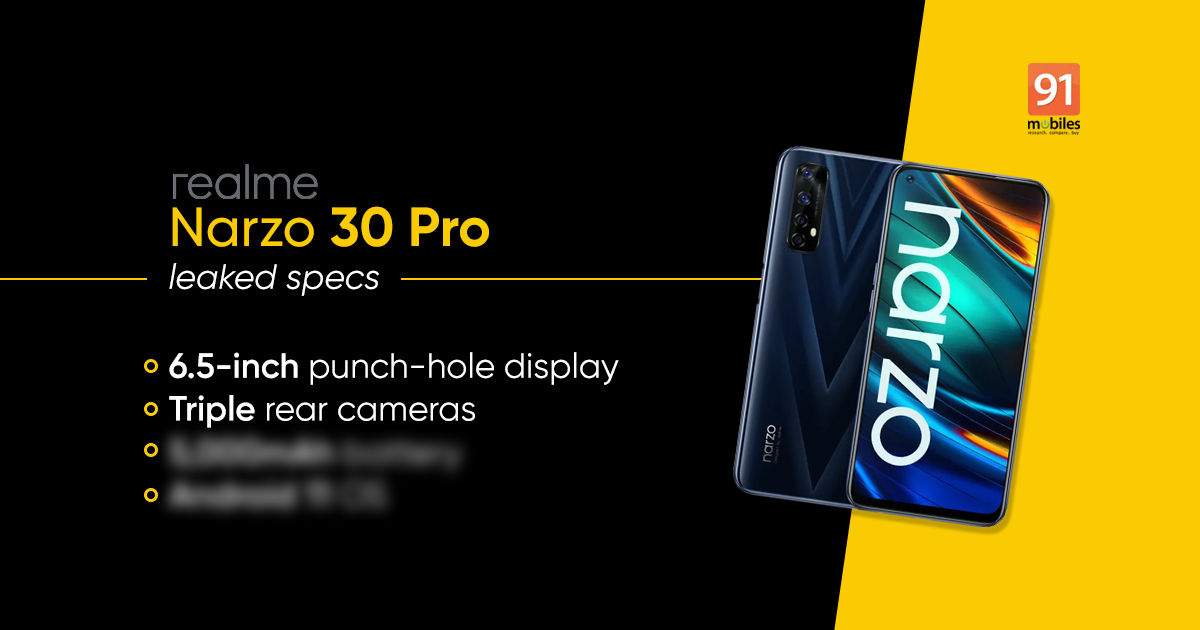 Realme Narzo 30 Pro tanıtıldı: İşte detaylar