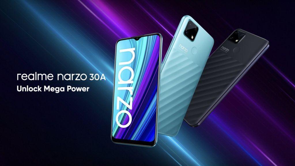 Realme Narzo 30A tanıtıldı: İşte fiyatı ve özellikleri