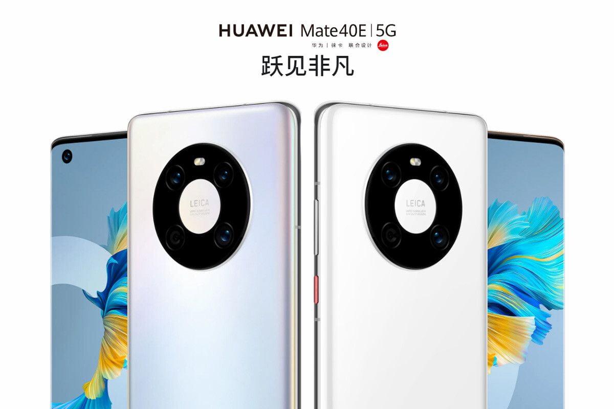 Huawei Mate 40E 5G tanıtıldı: İşte detaylar