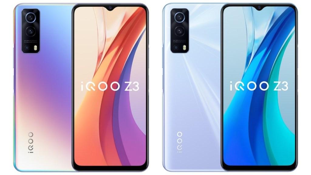 iQOO Z3'ün Bazı Ekran ve Batarya Özellikleri Belli Oldu