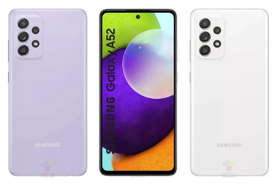 Samsung Galaxy A52 resmi olarak görüntülendi